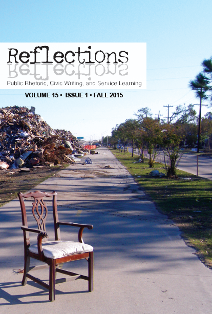 Reflections Volume 15, Number One