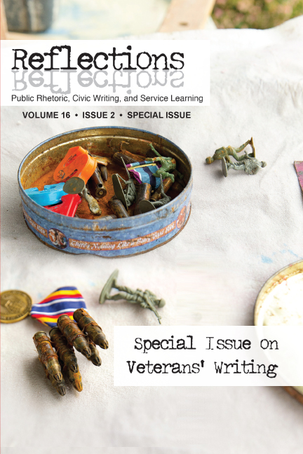 Volume 16, Issue 2, Special Issue on Veterans' Writing